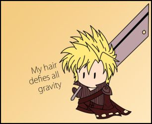 Cloud - the hair of gods by Hurley001