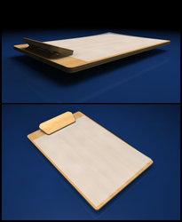 Plywood Clipboard by E1design