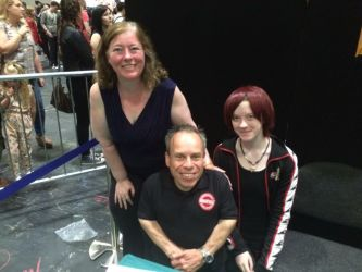 Meeting Warwick Davis by kayla4799