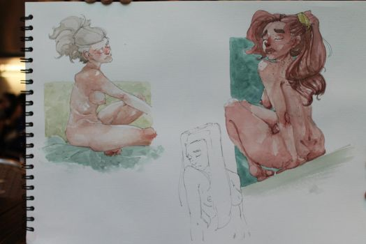 page #2 of my watercolor book by The-Art-Of-HEAA