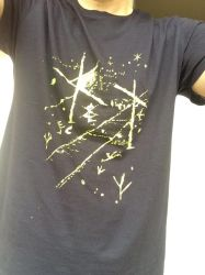 Tshirt designed to collect mushrooms in the forest by xyzna