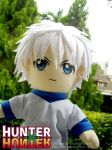 Plushie DailyLife - Killua by renealexa-plushie