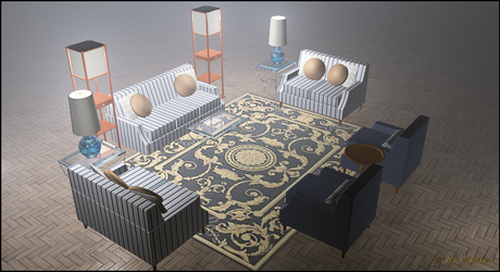 Interior Furniture, Living Room Suite by jbjdesigns