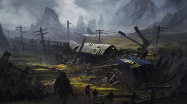 Afterearth: The Fall - Environment concept 2 by boc0