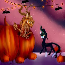 halloween by wolfthedead