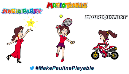 Make Pauline Playable! by Max-Black25