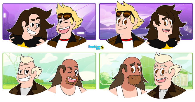SU Age Change: Greg and Andy by RoseMary1315