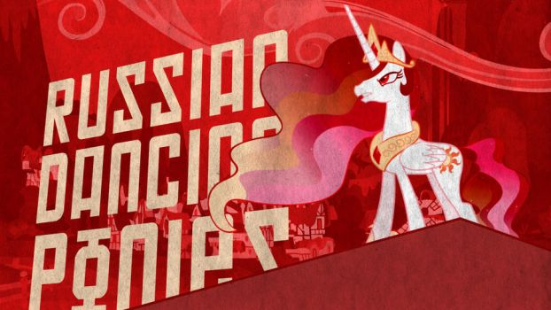Russian Dancing Ponies Wallpaper 2 by DabuXian