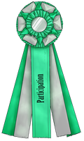 Show Ribbon - Participation by CalyArt