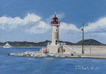 St. Tropez Lighthouse by shaman-art
