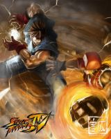 Street Fighter x Fatal Fury by serpentwitch