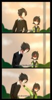 Short Comic - BC and Butch by riukime