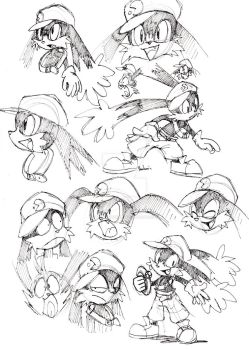 Klonoa studies by ThePandamis