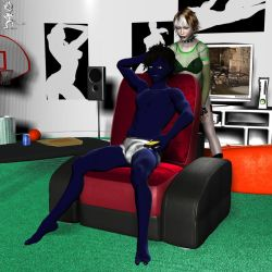 Nightcrawler's Me Time by Chup-at-Cabra