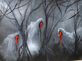 Three witches by HarvesterSkitanicA