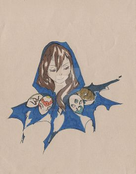 Little blue riding hood in hyprocritoi's world by ZoeFlush