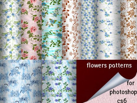 Flowers Patterns by roula33
