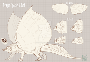 Dragon Species Adopt Auction - CLOSED by AntiDarkHeart