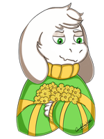 Asriel by RAWRsterCandy