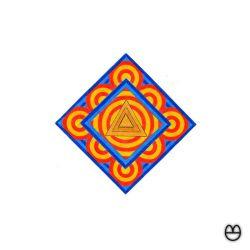 C and R III - Psychedelic triangle by agrumpyfrog