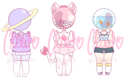 Object head adopts (CLOSED- $3) by FluffRave
