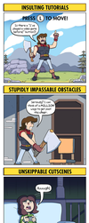 DORKLY: Video Game Tropes We're Absolutely Sick Of by GeorgeRottkamp