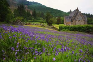 St John Church Ballachulish by MaresaSinclair