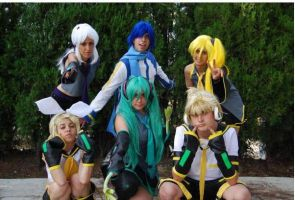 Vocaloid : Group by BlazeHikari