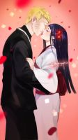 Hinata And Naruto Wedding by yuri-chan23
