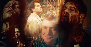 Always spring (Destiel Wallpaper) by mistofstars