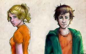 Percabeth_sketch color by MartAiConan