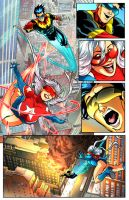 Hero Within #2 interior page by DustinEvans