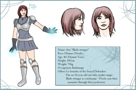 Aria Character Sheet by Sea-Sapphire