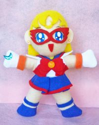 Sailor Moon Sailor V Custom Plush by aleena