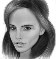 Emma Watson Drawing by stornitier