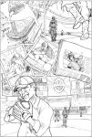 Azrael Steals Home page 3 by MarOmega