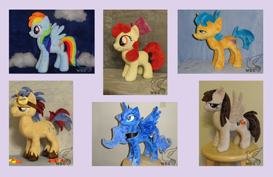 Mares, Fillies, Colts, Stallions, Alicorns and OCs by WhiteDove-Creations