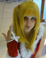 Lucy Christmas Outfit Fairy Tail Cosplay by Lucy-chan90