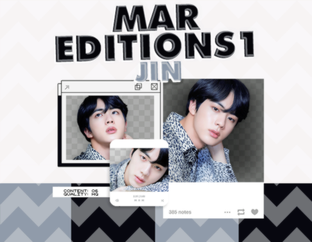 /PACK PNG/ JIN. by MarEditions1