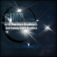 Stars And Galaxy Stars Brushes GIMP by FrostBo