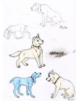 Wetwood and Pluto Sketches by abosz007