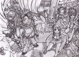 Fairy Tail Guild by 52mew