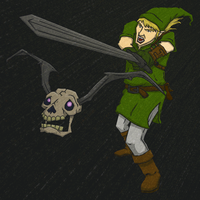 Fan Art Friday -Link by KahunaBlair