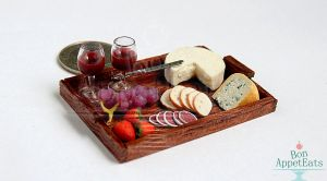 1:12 Cheese and Wine Tray by Bon-AppetEats