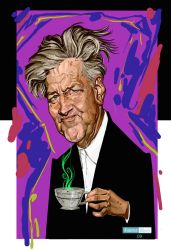 David Lynch by juarezricci