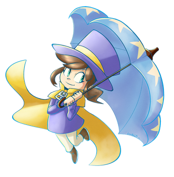 Hat Kid by LunarHalo24