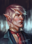 A character portrait by undeadcrabstick