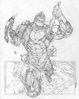 Trapjaw attacks by Kevin-Sharpe