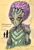 Dryad of Nira - December 2015 by Enshohma