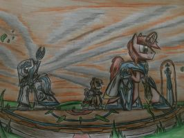MLP: Three Guardian by Paladin360